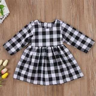 Baby Girl Checkered dress