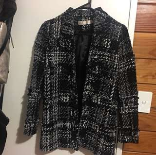 Korean Tweed coat