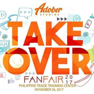 Adober TakeOver ( Adobers FanFair 2017 ) TICKETS
