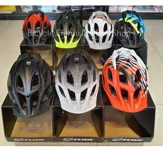 Fox Flux Helmet Bike Helmet Bicycle Helmet Size: Large-XL (Range) *High Quality Replica*