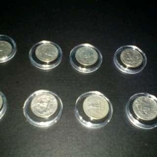 Old quarter dollar