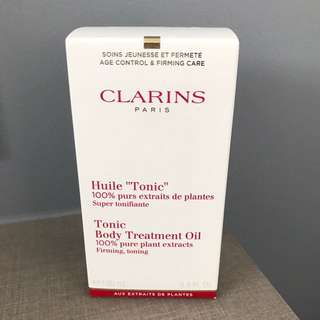 BN Clarins Tonic Body Treatment Oil