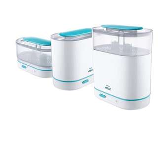 US Set - AVENT 3-in-1 Electric Steam Sterilizer