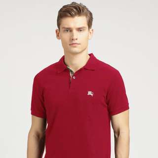 BURBERRY BRIT Men's Red Polo Tee Size M