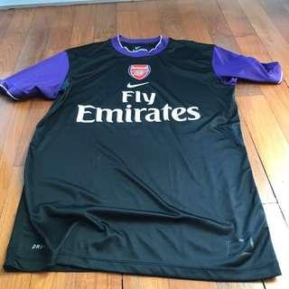 NIKE Arsenal Retro Black Purple Replica Size L