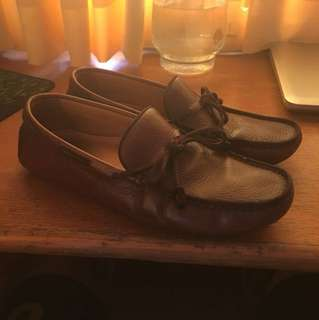 Massimo Dutti Leather Loafers