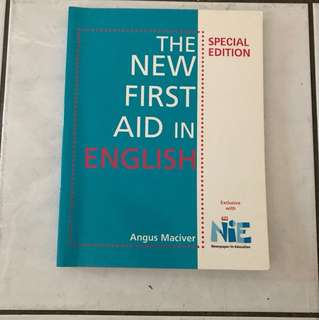 The New First Aid in English (Grammar Book)