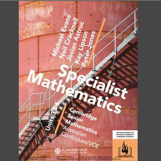 Cambridge Specalists Maths 3/4 PDF file