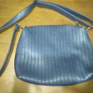 SECOSANA navy blue cross body bag