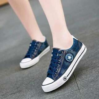 Korean Denim Shoes