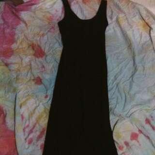 Vintage Wicked black long dress size 6-8
