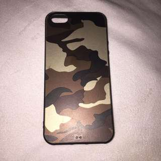 Camouflage iPhone 5/5s/SE case