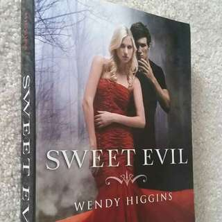Sweet Evil by Wendy Higgins - Young Adult Fiction, Paranormal, Angels, Romance, Demons