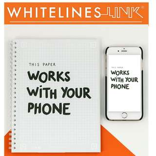 Whitelines Link Note book A5 Squared