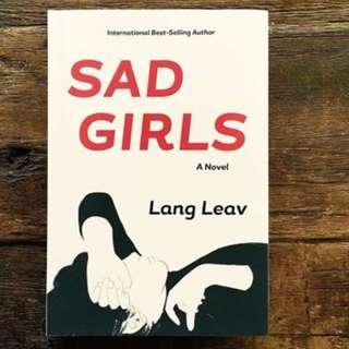 Sad girls Lang Leav