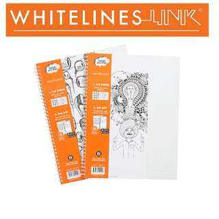 Whitelines Link Notebook A5 Lined