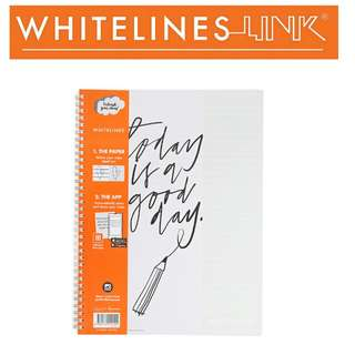 Whitelines Link Notebook A4 Lined
