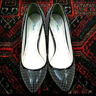 搶搶搶***Miu Miu Stud Shoes