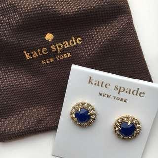 Kate Spade New York Secret Garden Stud Earrings (14K Gold Fill)