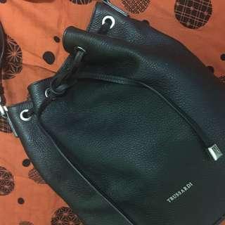 TRUSSARDI leather handbag