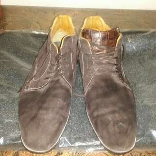 Suede/Leather Combo shoes Formal/Casual