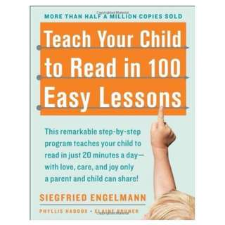 Teach Your Child to Read in 100 Easy Lessons- USA BEST SELLER !