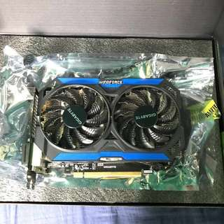 Gigabyte GeForce Gtx 960 OC Graphics card