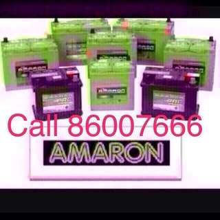 Amaron Car Battery Replacement (24/7 Express service)