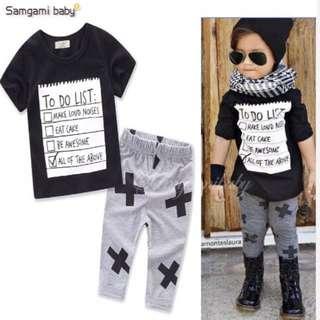 "Baby/Kids Terno - ""To do list"""