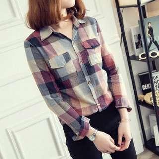 Stylish Check / Plaid Shirt