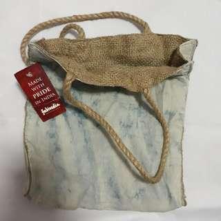 🚚 Fabindia Jute Bag (25cm x 27cm)