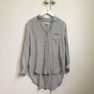 COUNTRY ROAD Dove Grey Shirt XS