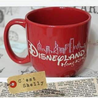 迪士尼  香港風景馬克杯 2個600