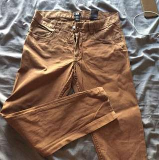 H&M Brown Pants Size 31