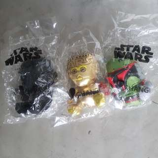 Star Wars Plush $10 for all 3