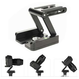 Z Type Foldable Quick Release Plate Stand Holder Tripod