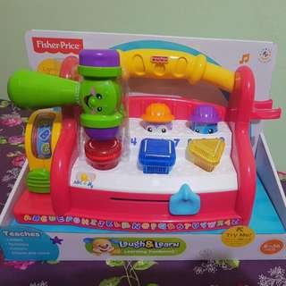 Fisher Price Laugh & Learn Learning Tool bench (Brand New)