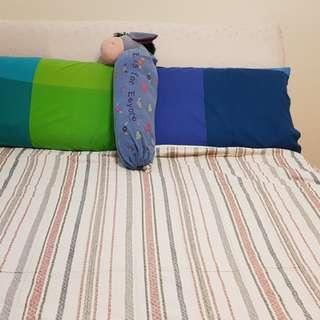 🚚 超值雙人床組(不含被套,枕頭,玩偶