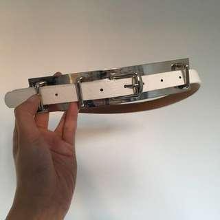 White Belt (XS to S)