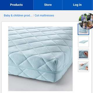 vyssa vinka cot mattress
