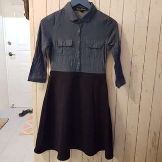 Kamiseta Collared Dress