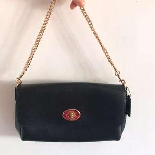 Coach leather bag兩用袋(手挽及斜揹)