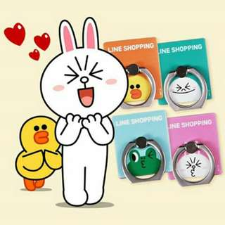 Gratis 4pcs I-Ring Line Friends