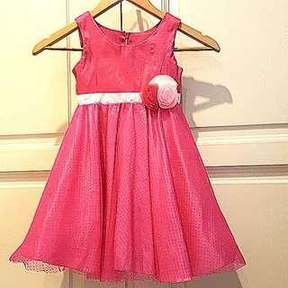 Hot Pink Pretty Dress