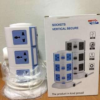 Vertical Multi-purpose Socket for Sale