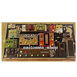 Entire Pedal Board (Boutique Tube Rare/ Out of the world Pedals)