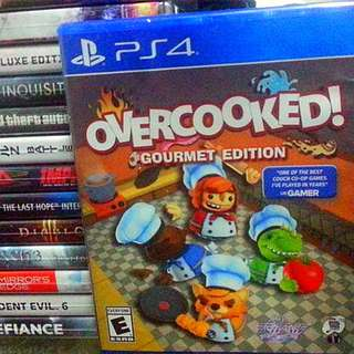 [new & sealed] PS4 Overcooked SONY PLAYSTATION Action Games SCE