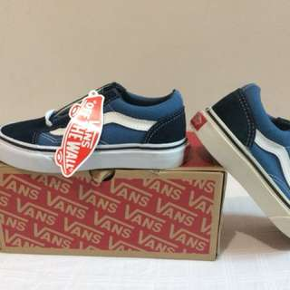100% Authentic Vans Sneakers for kids