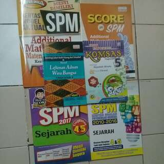 SPM REVISION EXERCISES & REFERENCE BOOKS