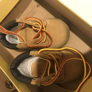 Baby Timberlands size 3-6months